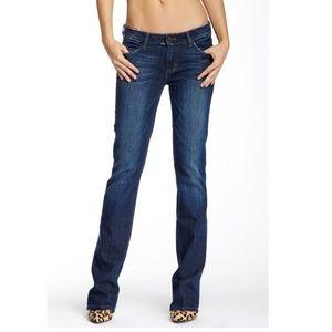SIWY Charlotte Slim Bootcut Jeans Lucky Dark Wash